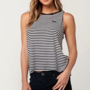 Vans Embroidered Knit Sleeveless Top
